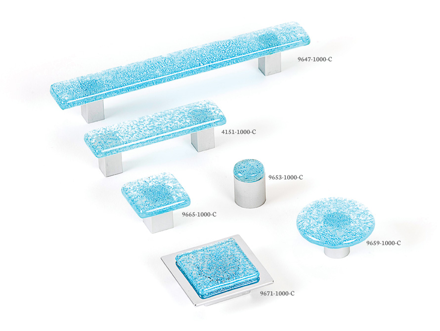 Aqua Light Blue - Spectrum decorative hardware board