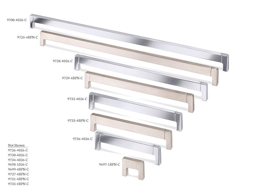 Lungo - ArtTech decorative hardware board