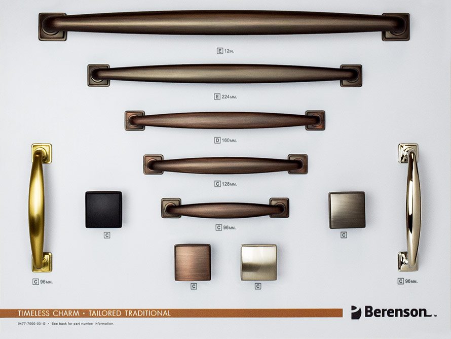 Timeless Charm Berenson Boards Decorative Hardware
