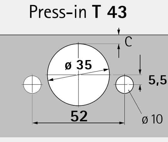Hettich Pattern (T 43)