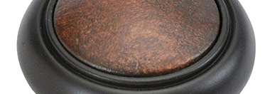 Belwith Finish: Oil-Rubbed Bronze with Dark Wood (10BDW)