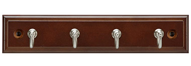Belwith Finish: Cherry Stained with Satin Nickel (CSSN)