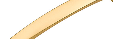 Belwith Finish: Flat Ultra Brass (FUB)