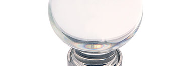 Belwith Finish: Glass with Satin Nickel (GLSN)