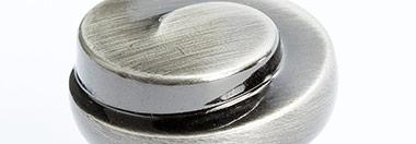 Berenson Finish: Rustic Black Nickel (RBN)