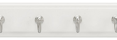 Belwith Finish: White with Satin Nickel (WSN)
