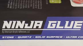 Ninja Glue Solid Surface Bonder